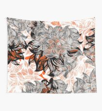 floral abstraction Wall Tapestry