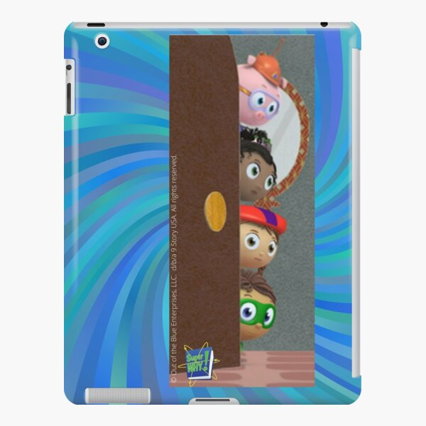 Super WHY Super Readers Sneaking In to Help! iPad Snap Case