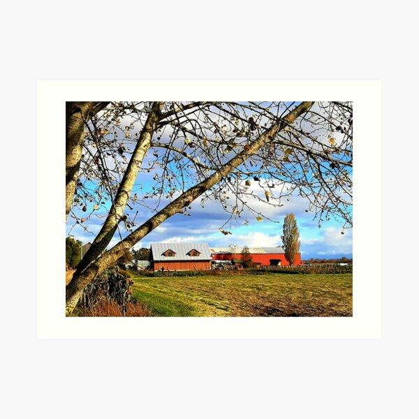 Westham Island Herb Farm Art Print