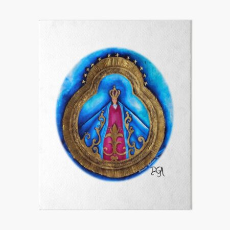 Virgen de Suyapa Art Board Print
