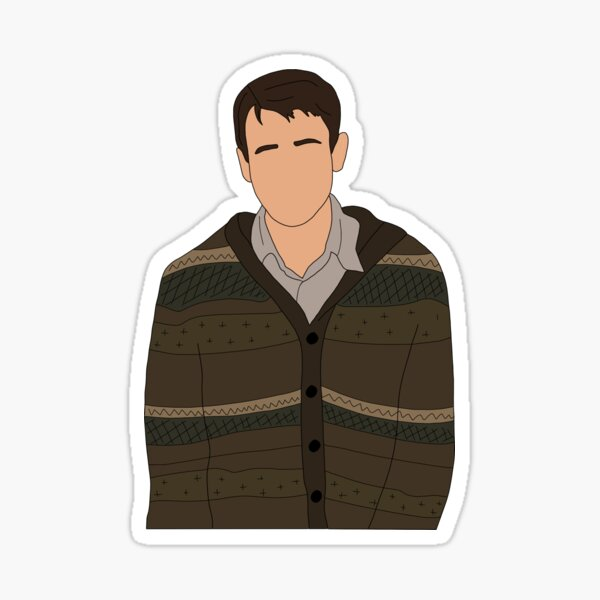 The boy who could've been - Portrait Sticker