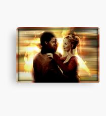 Emma Swan and Neal Cassidy  Canvas Print