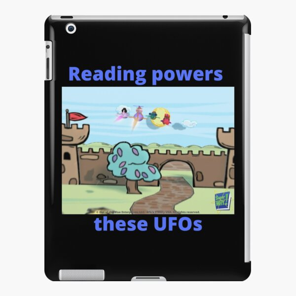 Super WHY Reading Powers These UFOs iPad Snap Case