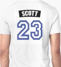 One Tree Hill Nathan Scott Jersey Unisex T-Shirt