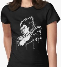 Vegeta Saiyan Women's Fitted T-Shirt