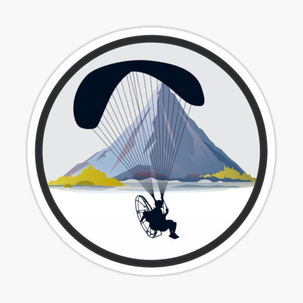 Official Paramotor Sticker from ClearPropTV Sticker