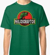 Philosoraptor Meme Funny Velociraptor Dinosaur T Shirt Classic T-Shirt