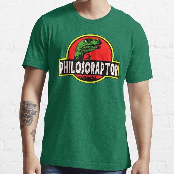 Philosoraptor Meme Funny Velociraptor Dinosaur T Shirt Essential T-Shirt