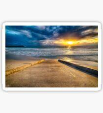 Sunset at Cottesloe 3 Sticker