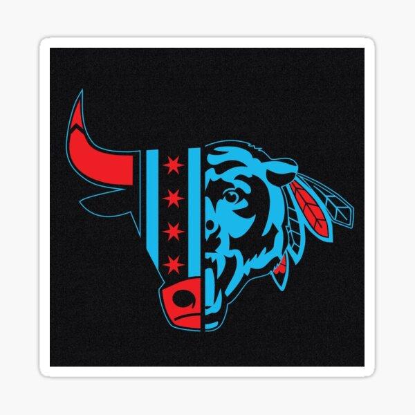 Chicago Bull / Blackhawk / Bear Sticker