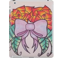 Cute bow and roses iPad Case/Skin