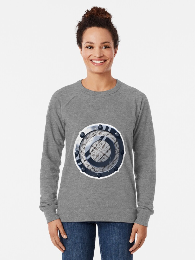 Alternate view of Celtic Buckler Shield Lightweight Sweatshirt