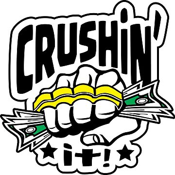 Crushin' it! Brass Knuckles Style by ChattanoogaTee
