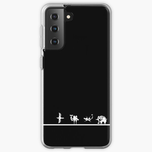 Divine Beasts Breath of the Wild (white) Samsung Galaxy Soft Case