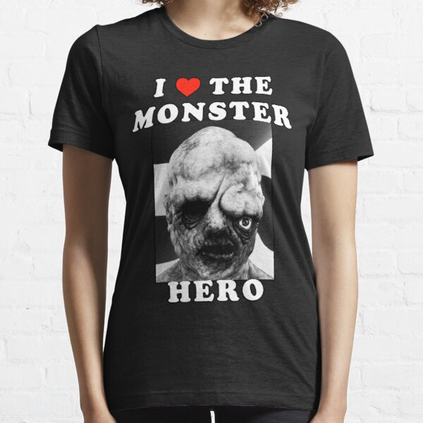 I Heart The Monster (White Text) - TOXIE - TOXIC AVENGER / CRUSADER Essential T-Shirt