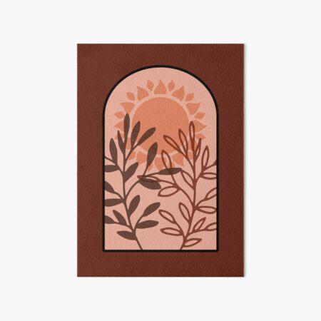 Arch bohemia Art Board Print
