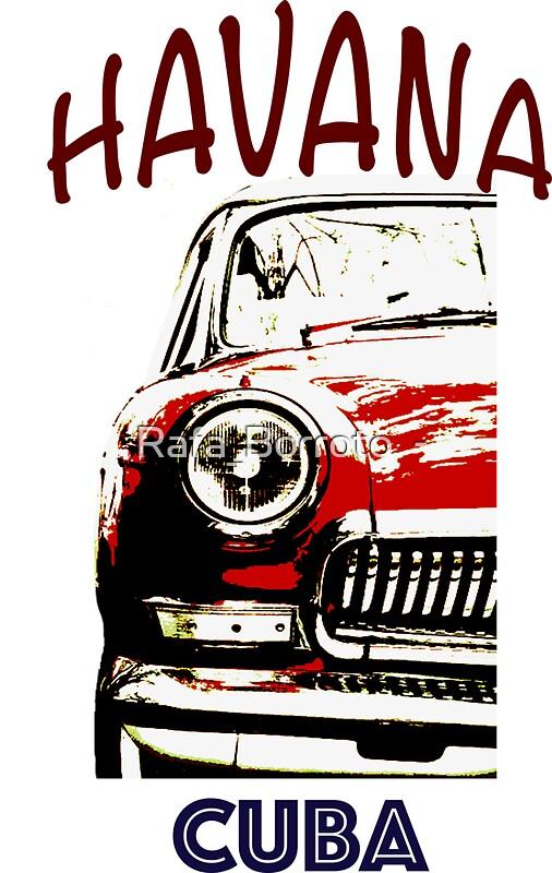 American Classic Car In Havana Cuba Art Cuban T Shirt Classic