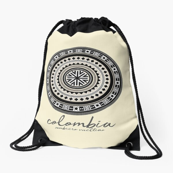 COLOMBIA VUELTIAO HAT Drawstring Bag