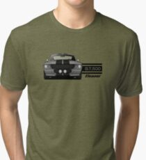 1967 Ford Mustang Shelby GT500 - Eleanor Tri-blend T-Shirt