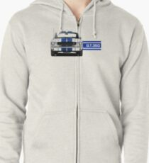 1965 Ford Mustang Shelby GT350 Zipped Hoodie