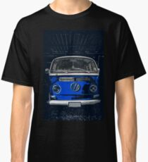 Volkswagen Blue combi illustration Classic T-Shirt