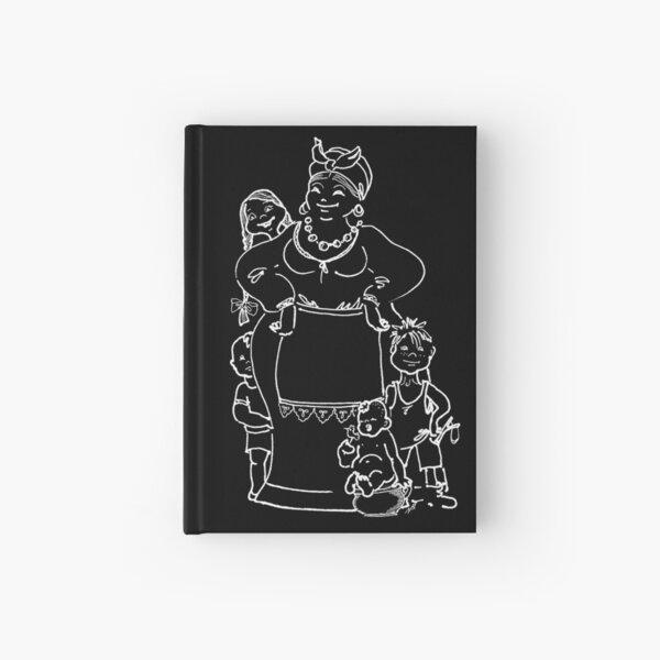 Family (white on a dark background) Hardcover Journal