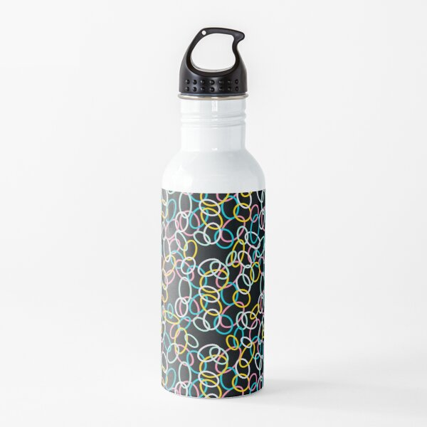 Colourful cells Water Bottle
