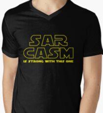 Sarcasm T Shirt Men's V-Neck T-Shirt