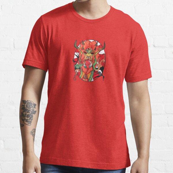 Body Mind Soul Sacred Third Eye Dragon Serpent Essential T-Shirt