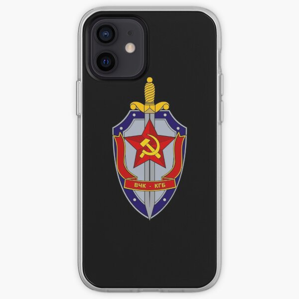 KGB Emblem iPhone Soft Case