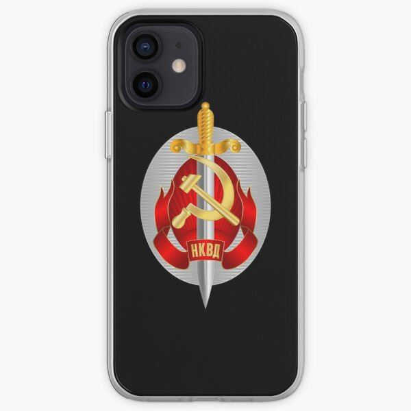 NKVD Emblem iPhone Soft Case