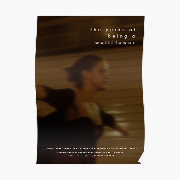 The Perks of Being a Wallflower Poster Poster