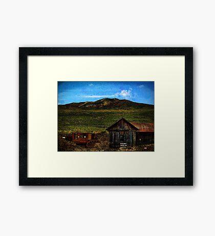 Bonner Pass, California USA Framed Print
