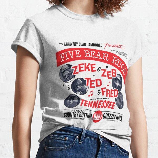 Country Bear Jamboree Five Bear Rugs  Classic T-Shirt