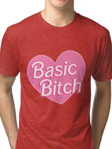 Basic Bitch Blue Tri-blend T-Shirt
