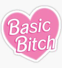 Basic Bitch Blue Sticker