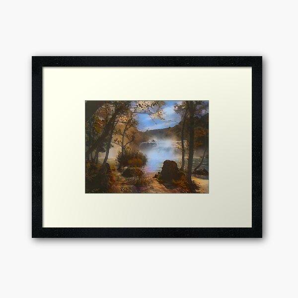 Krka Falls Framed Art Print