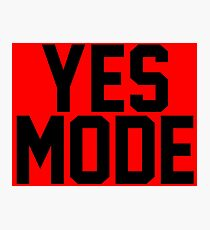 YES Mode Photographic Print