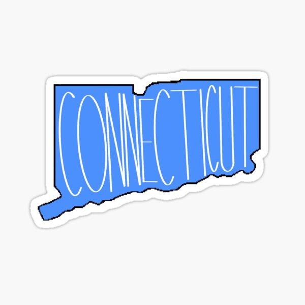 Connecticut in Blue Sticker