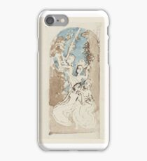 Thomas Stothard A Sacrifice. Four Figures. Design with an Arched Top iPhone Case/Skin