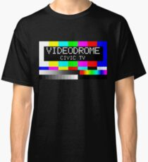 Videodrome - Civic TV Classic T-Shirt