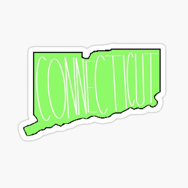 Connecticut in Green Sticker