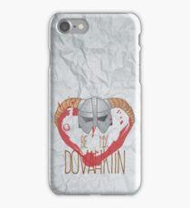 be my dovahkiin iPhone Case/Skin
