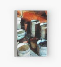 Colorful Buckets Hardcover Journal