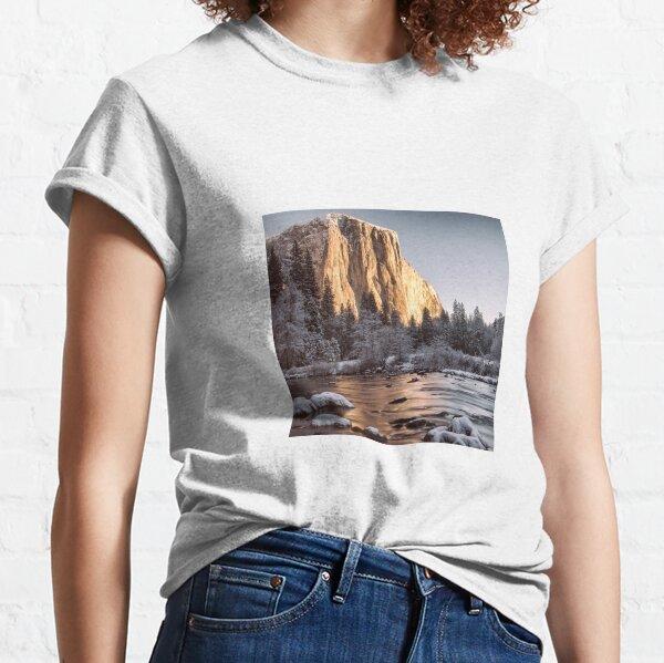 El Capitan, Winter 2012, Yosemite National Park Classic T-Shirt