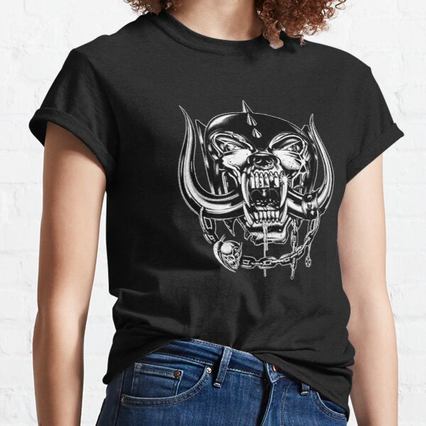 Motorhead rock and roll band best logo Classic T-Shirt