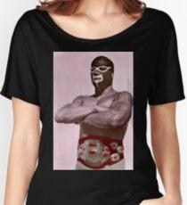 Luchador enmascarado Women's Relaxed Fit T-Shirt