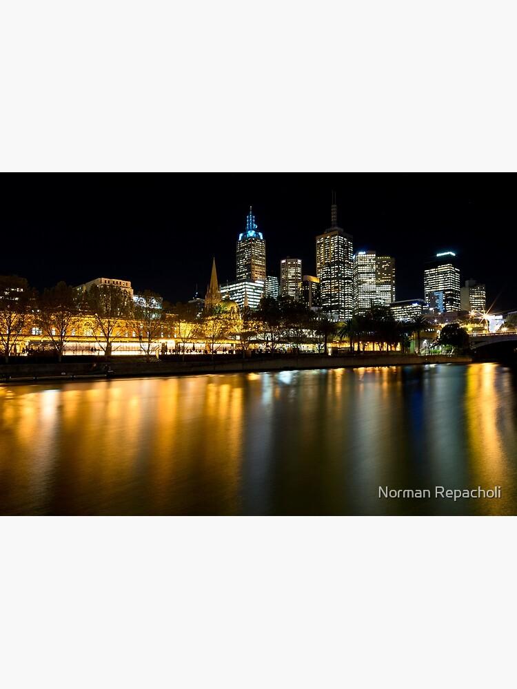 Evenings on the Yarra - Melbourne Australia by keystone