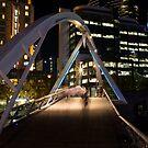 Southbank Slipstream - Melbourne Australia by Norman Repacholi