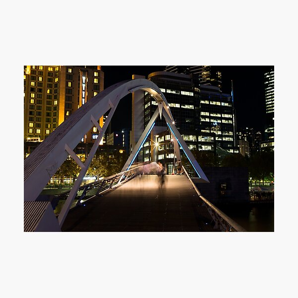 Southbank Slipstream - Melbourne Australia Photographic Print